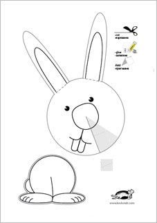 3D Winter COLLAGES Printable Templates Easter CraftsEaster