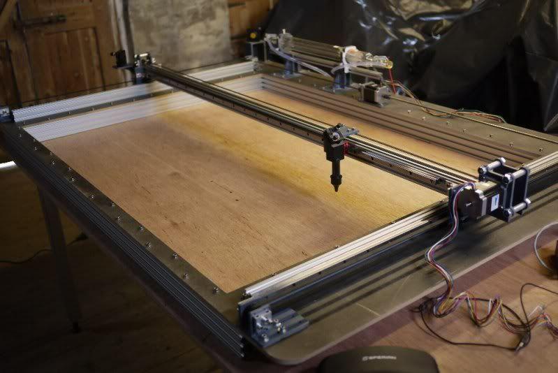 New Machine Build DIY Large Format Laser Cutter | Laser