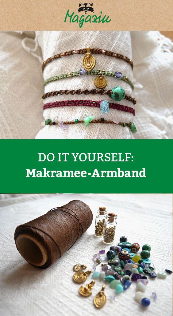 Photo of DIY: Makramee-Armband knüpfen