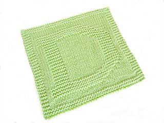 Alphabet Dishcloth: D   Knitting blogs, Rib stitch ...