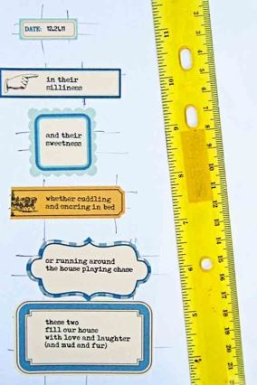 Printing on journaling labels with Jill Sprott
