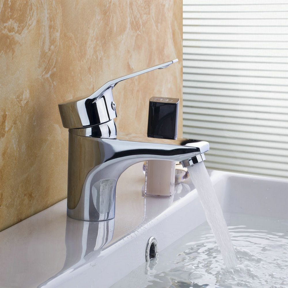 Best Basin Torneira Widespread New Single Lever Chrome Polished ...