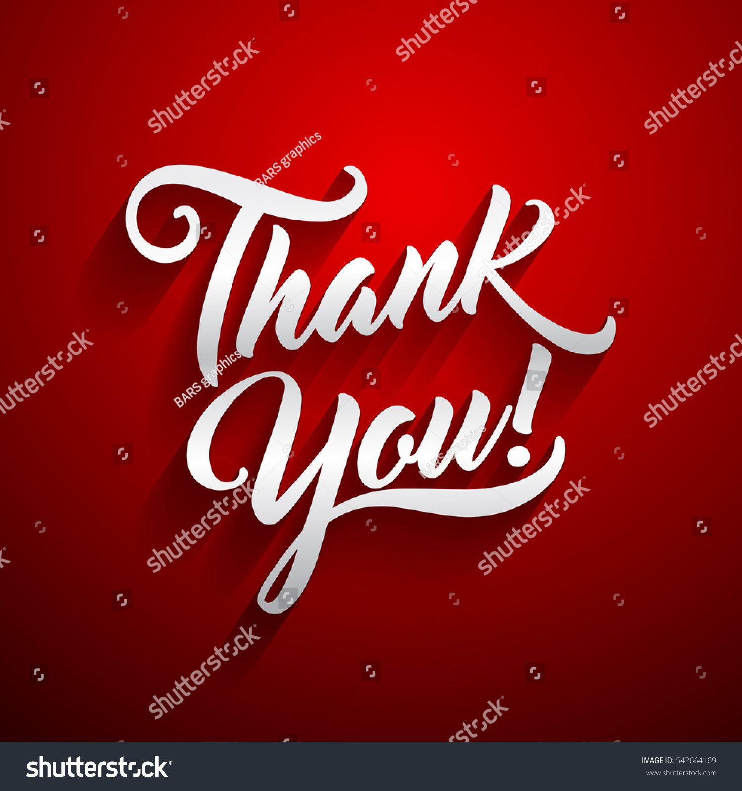 Thank you beautiful lettering text vector illustration thank you thank you beautiful lettering text vector illustration thank you greeting card for presentation slide kristyandbryce Images