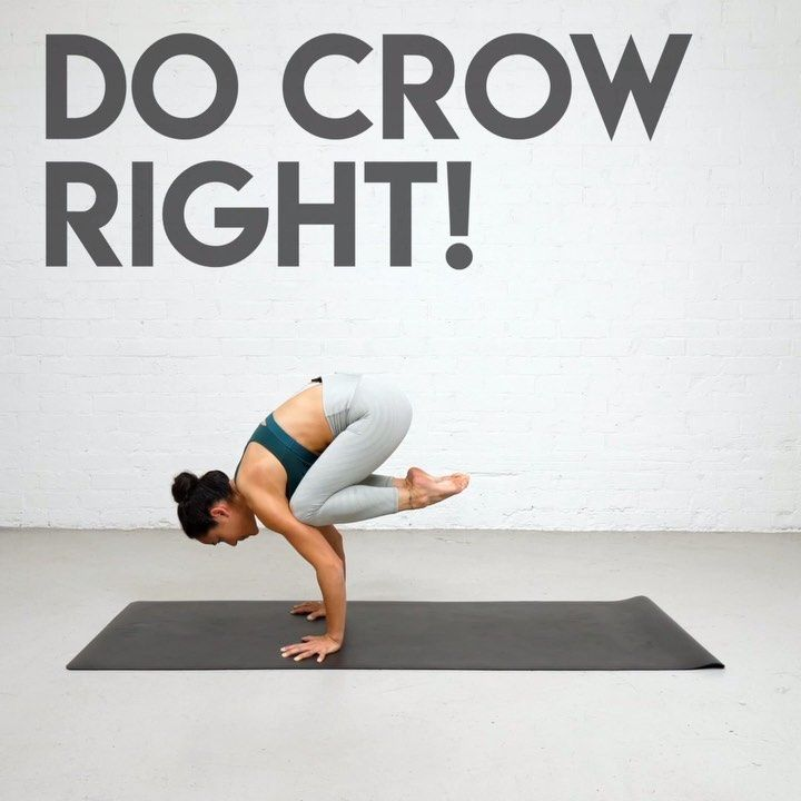 "Briohny Smyth on Instagram ""When you're new to Crow pose, you learn it a bit lower while you're getting used to put weight on your hands and balancing off the ground …"" is part of Yoga - 2,741 Likes, 82 Comments  Briohny Smyth (@yogawithbriohny) on Instagram ""When you're new to Crow pose, you learn it a bit lower while you're getting used to put weight on…"""