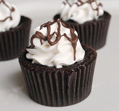Chocolate Marshmallow Cupcakes recipe