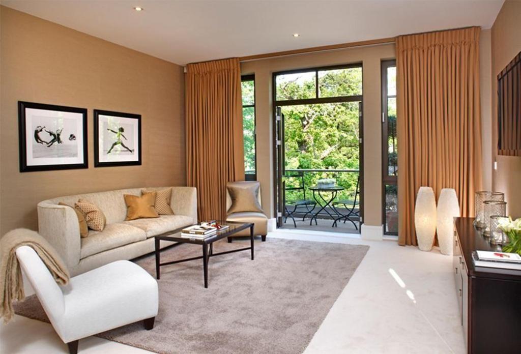 Italian Marble Flooring In Living Room Carraratiles