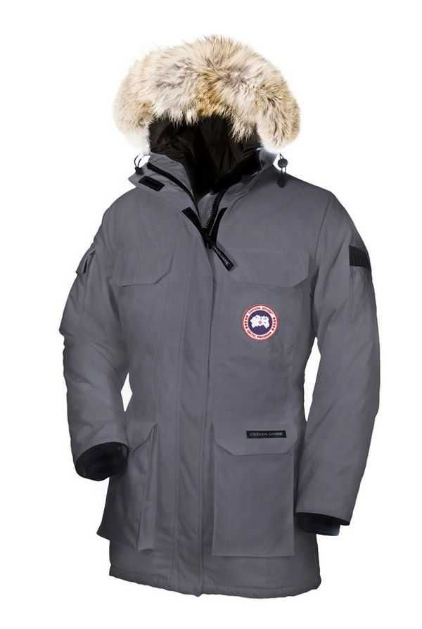 Women's Canada Goose Expedition Parka Mid Grey