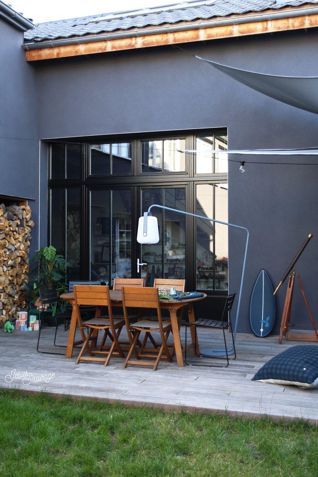 Notre Terrasse L Avant Apres Hometour Couleur Facade Maison Terrasse Maison Et Deco Terrasse