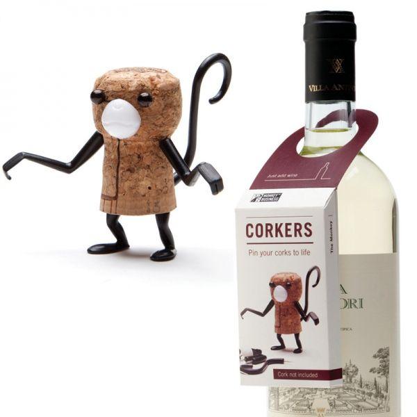 Korktierchen Corkers The Monkey - Monkey Business #cork #animal