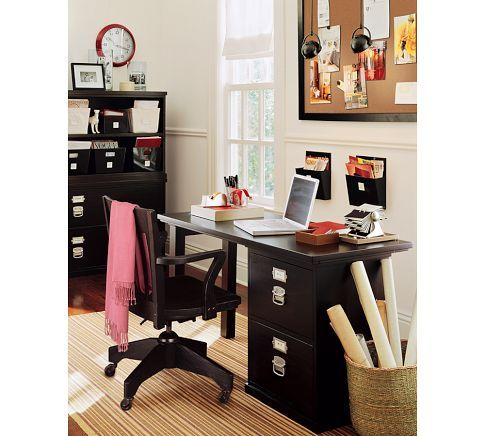 Bedford Small Desk Set From Pottery Barn