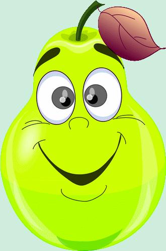 Ar Poire Vert Heureux Smiley Emoticone Clipart Cartoon Telechargement Gratuit Et Sans Inscription Freche Fruchtchen Lustige Fotos Fruchtchen
