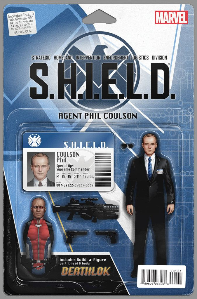 S.H.I.E.L.D #1 Action Figure Variant 2015 Marvel NM//NM Agent Carter