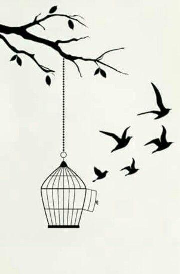 Bird Cage Tattoo Idea Tatuagens De Gaiola Arte Com Rabiscos Tatuagens De Gaiola De Passaro