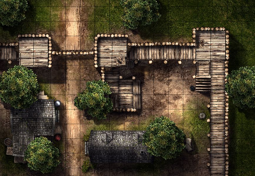 MapHammer is creating battle maps for D\D, Pathfinder and other - best of free online world map creator