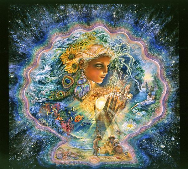Josephine Wall, Artist (published on fb)