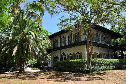 Ernest Hemingwayn koti Floridan Key Westissä.