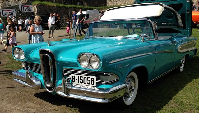 1958 Edsel Retactable I'm Not Sure If This Is A Rare Factory