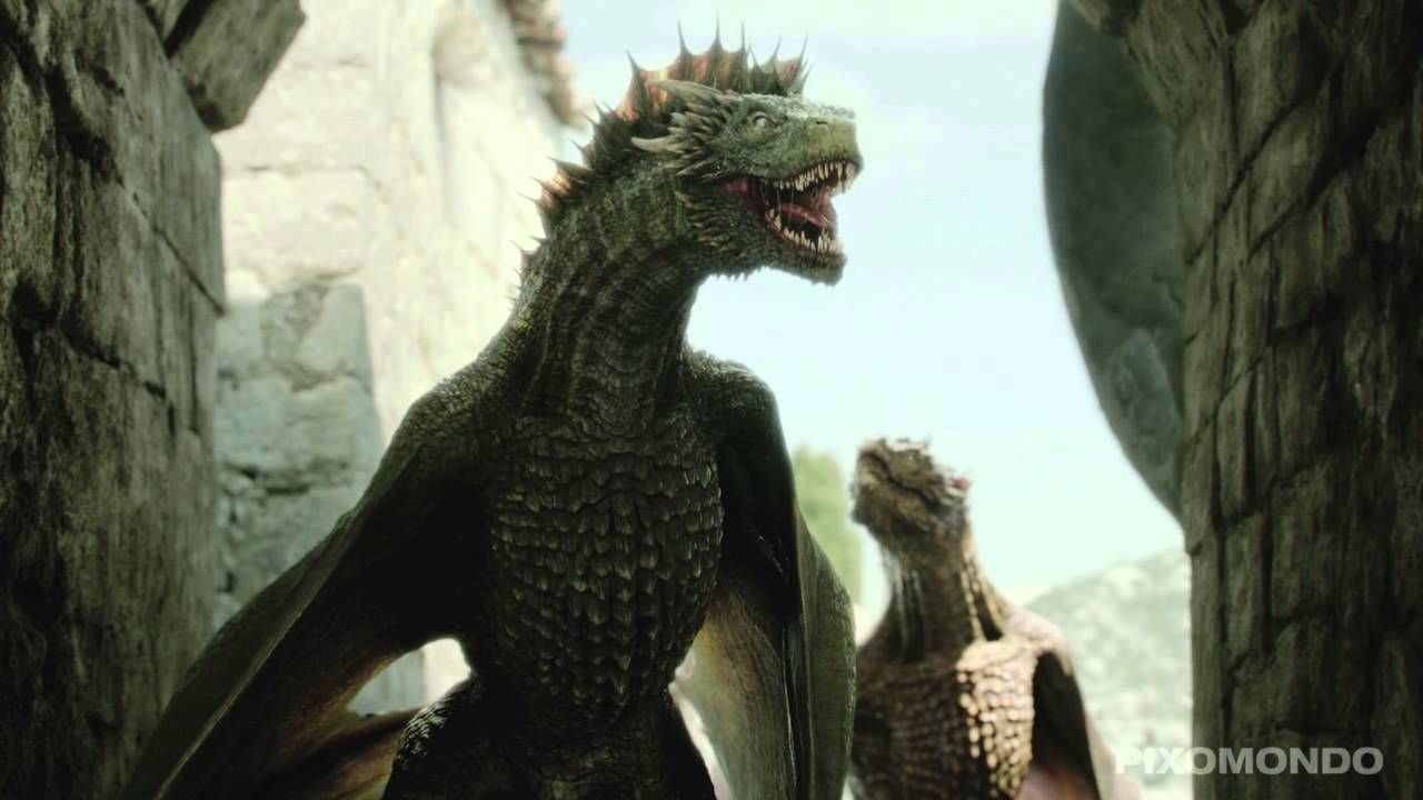 Dragons game of thrones colors - Game Of Thrones Cgi Dragons