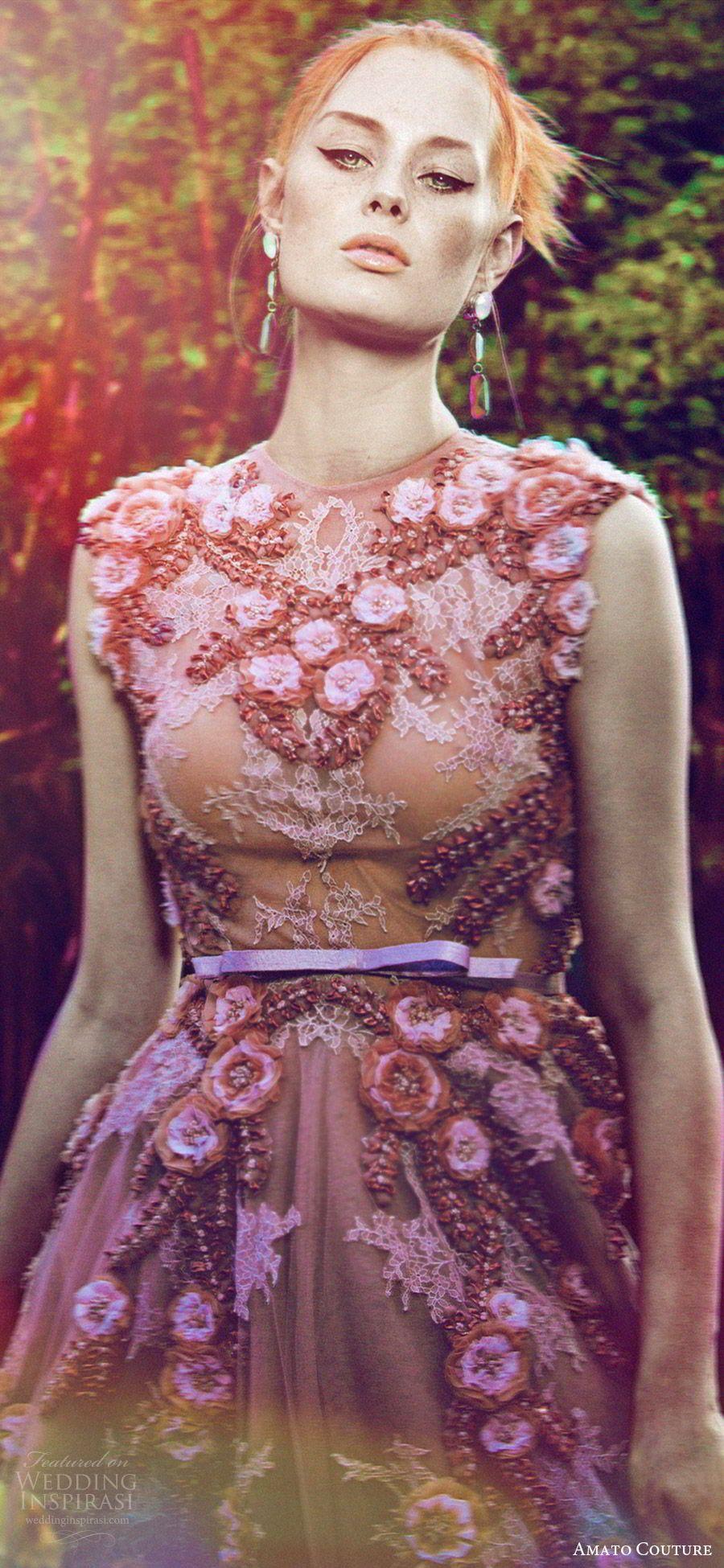 """Amato Couture 2017 Collection — """"The Secret Garden"""" Shoot"""