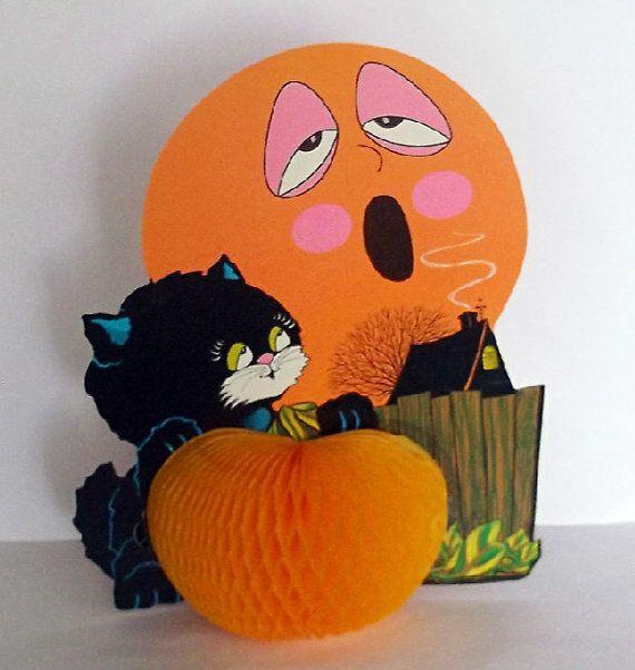 Beistle Halloween Decoration Vintage Centerpiece by CrowsCottage