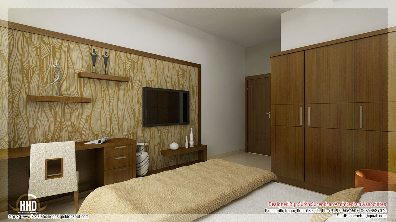 Beautiful interior design ideas kerala home bedroom interior bedroom interior indian style