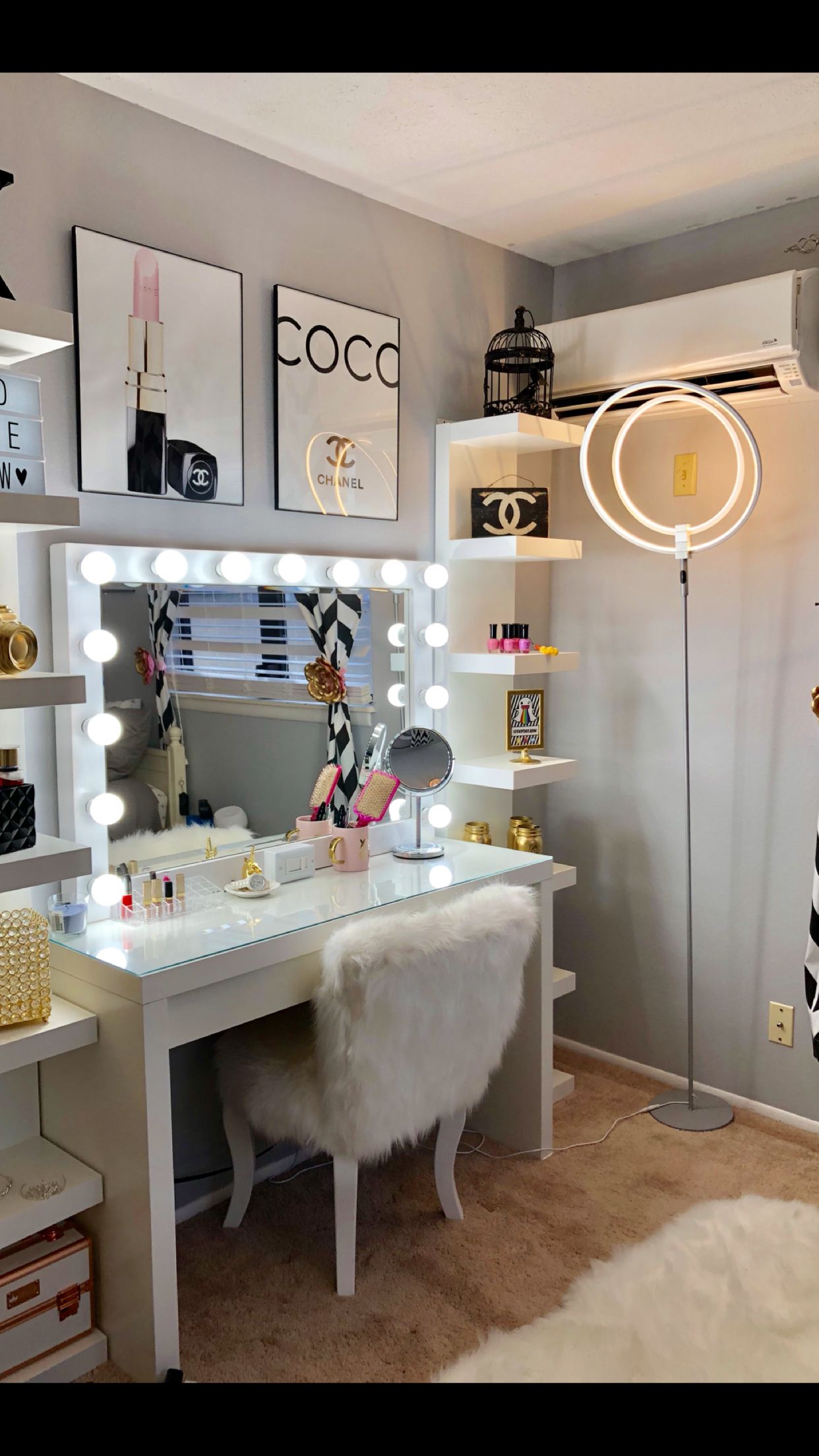 Chanel Inspired room  Chanel Inspired bedroom in 2019