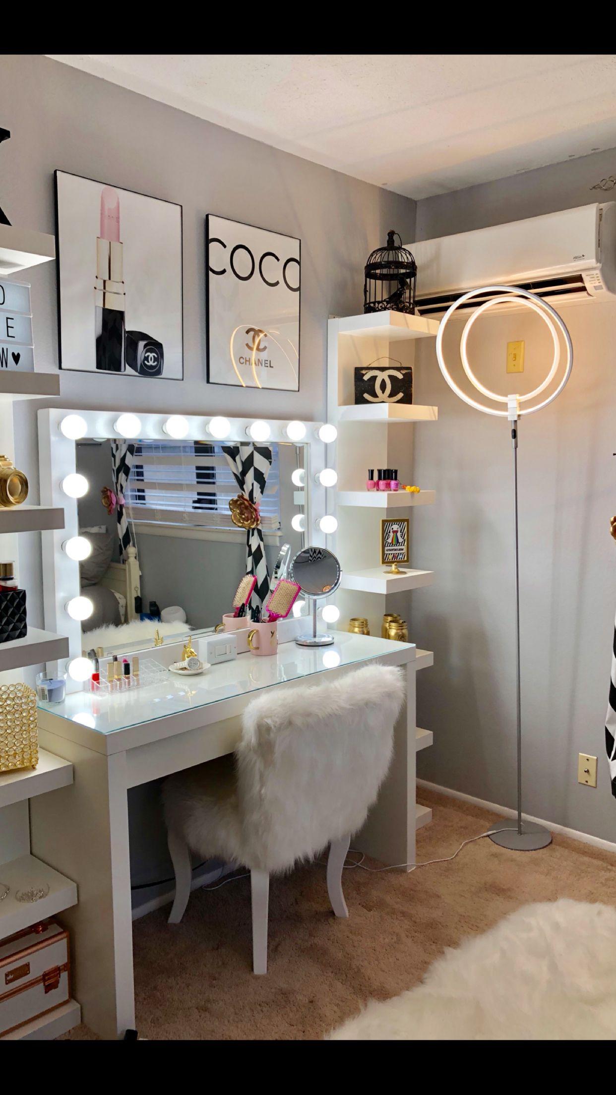 Chanel Inspired Room Bedroom Inspirations Fancy Bedroom Chanel