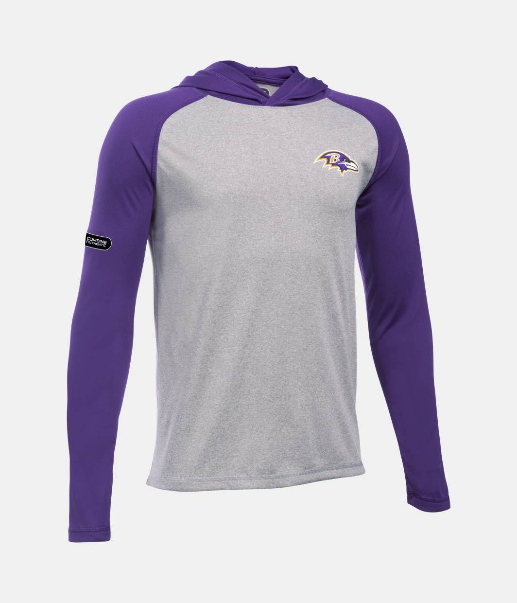 Boys' Baltimore Ravens NFL Combine Authentic UA Tech™ Hoodie, Baltimore  Ravens, zoomed