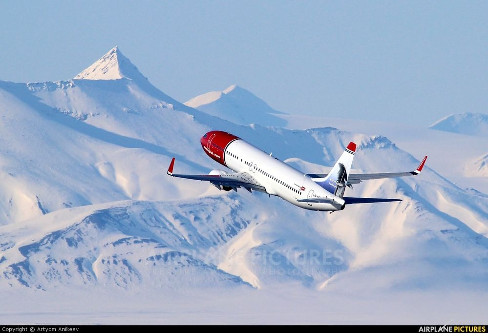 Norwegian Flying Nearly Pole To Pole Norwegian Air Boeing Boeing 737