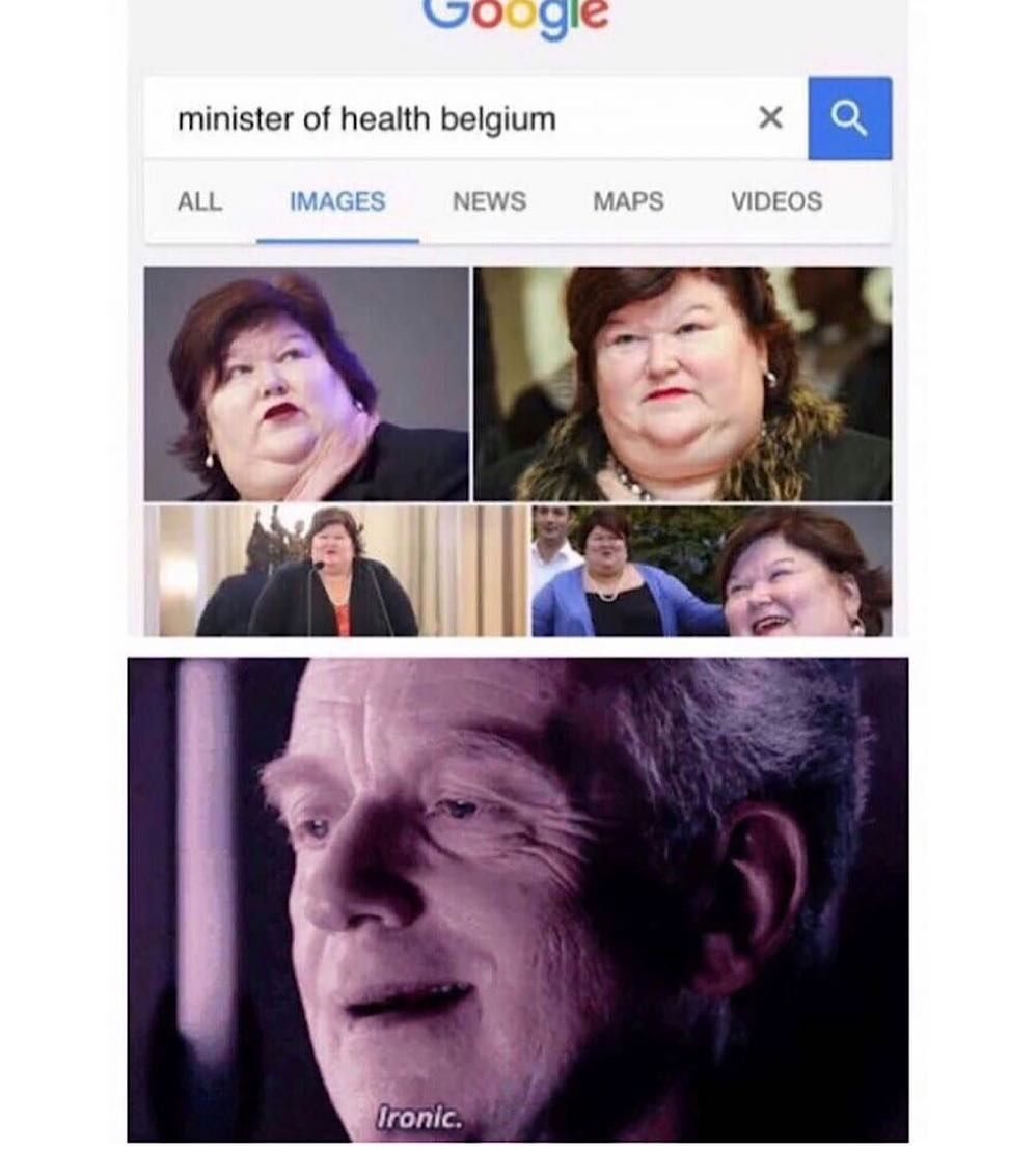 I live in Belgium and she eats not healthy. I don't ...