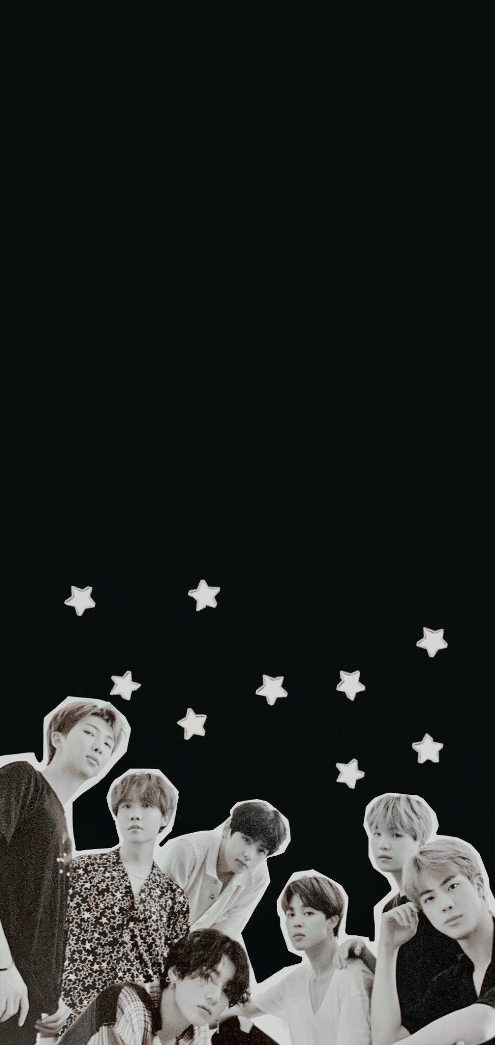 Pin By 7winterbear On Bts Lookscreen Wallpapers Bts Wallpaper Bts Black And White Bangtan