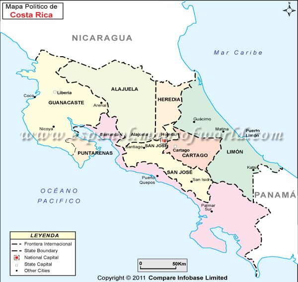 Mapa De Costa Rica.Mapa De Costa Rica Maps Map Costa Rica Puntarenas