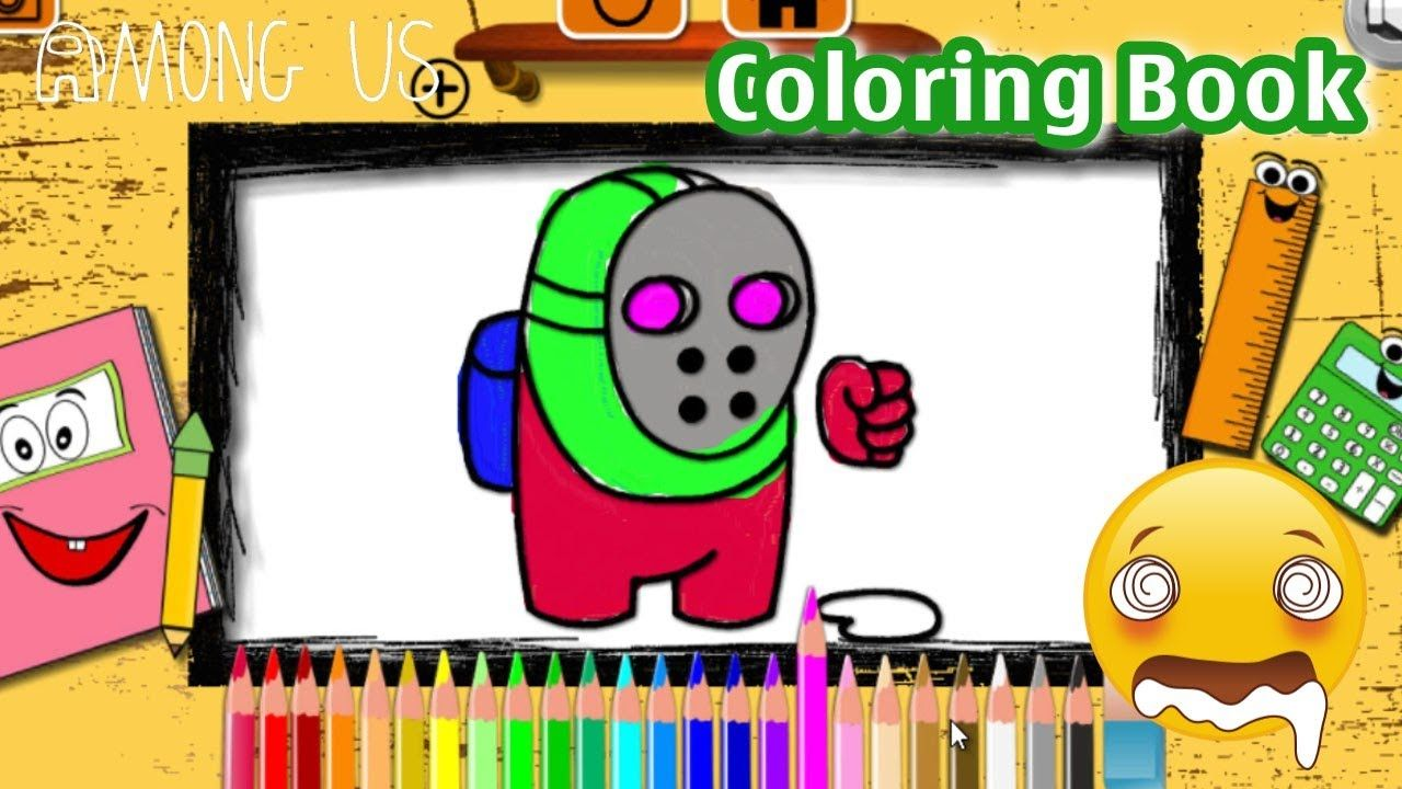 Among Us Space Dude Coloring Book By Y8 Y8 Games Trong 2021