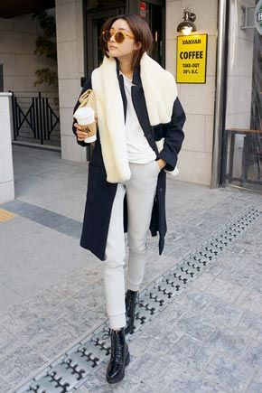 Stylenanda Basic Thick Casual PantsAre you on a lookout for a casual, off-duty pants? Here