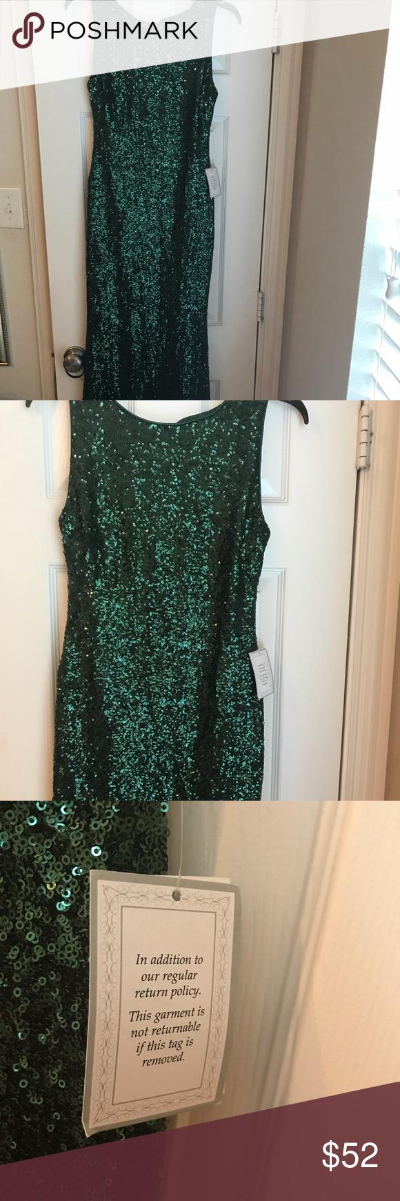 B darlin open back sequin long dress lovely emerald sequin dress