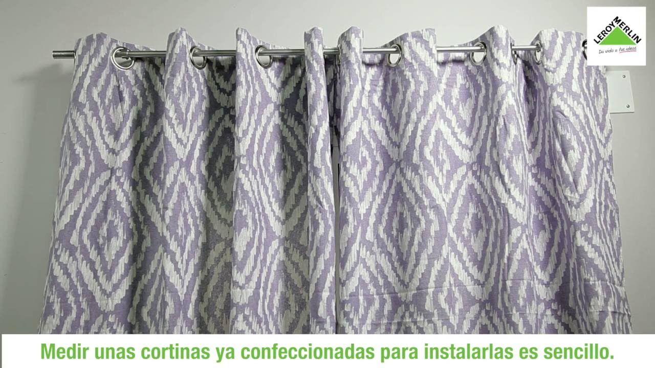 C Mo Medir Las Cortinas Leroy Merlin Cortinas Visillos Y  ~ Leroy Merlin Estores Y Cortinas