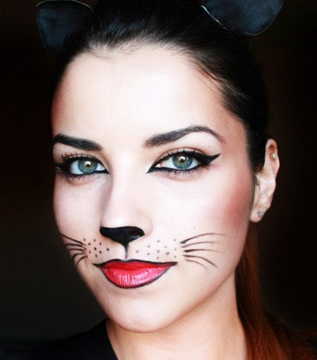 5 Last-Minute Halloween Looks That Only Require Eyeliner | Cat ...