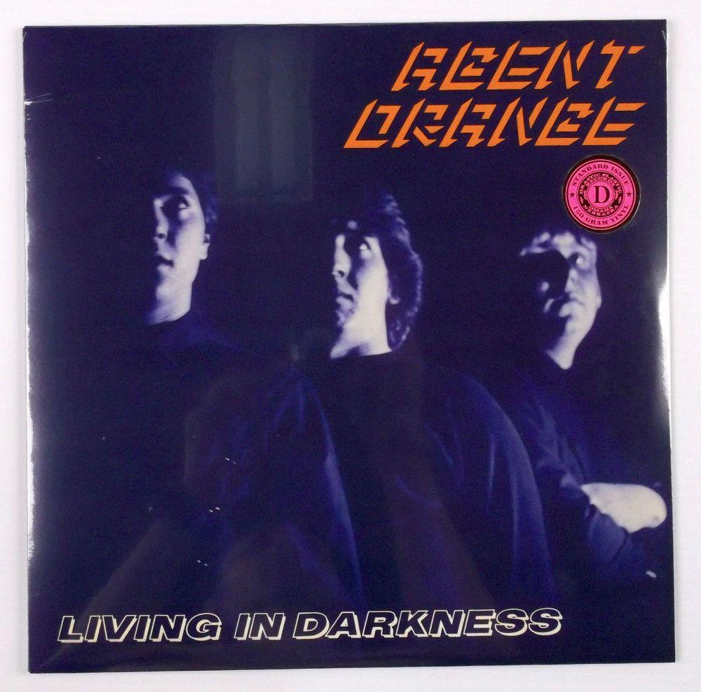 Agent Orange Living In Darkness Lp Record Brand New 150 Gram Vinyl Punknewwave Vinyl Agent Orange Records