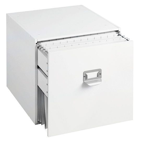 <div>Indulge your passion for paper, and keep it neat and organized in this handy file cube that...