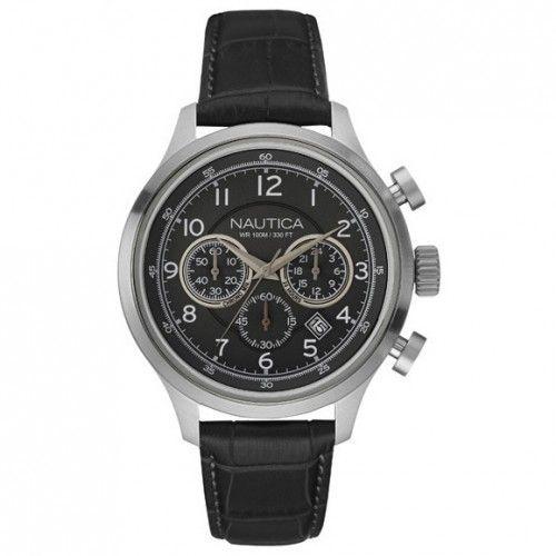 7e7499b361e  VIVARA  Relógio Nautica Masculino Couro e Thomy Masculino Aço - R  425