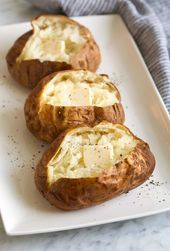Best Baked Potatoes {Perfect Every Time} – Cooking Classy  best baked potato met…