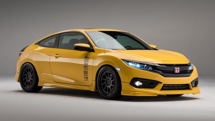 Sema Honda Civic Show Cars Prove The Model S Continuing Tuner Appeal Honda Civic Honda Civic Si Coupe Honda Civic Si