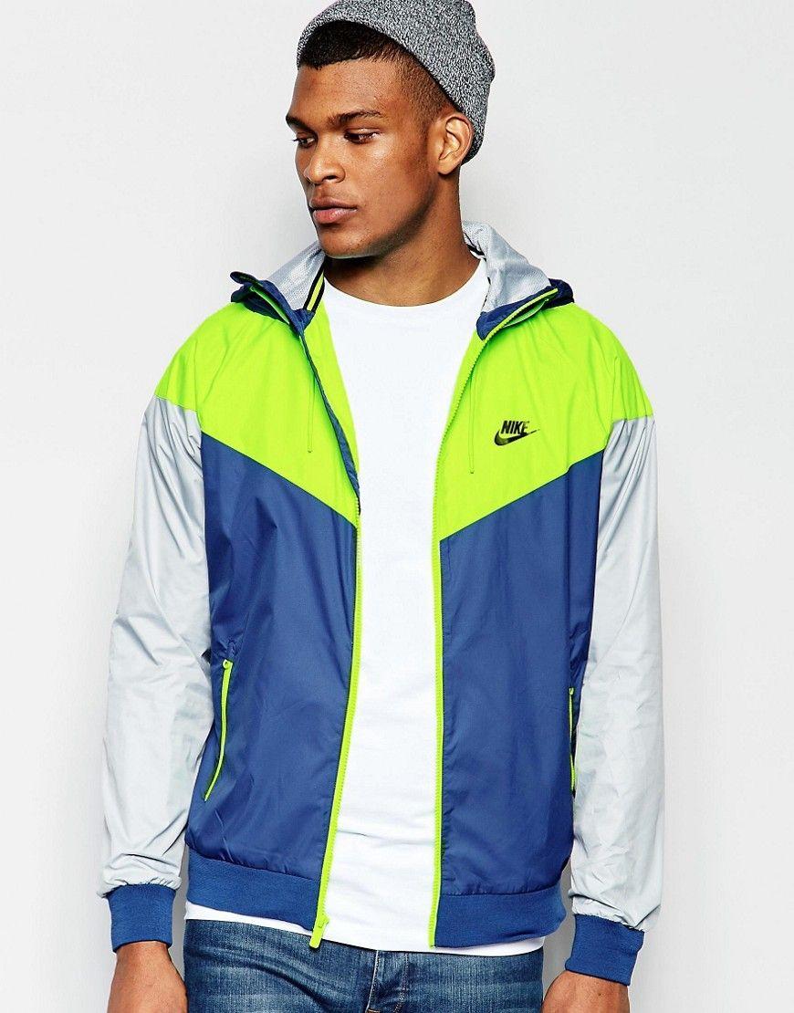 Imagen 1 de Cortavientos azul 727324 423 de Nike