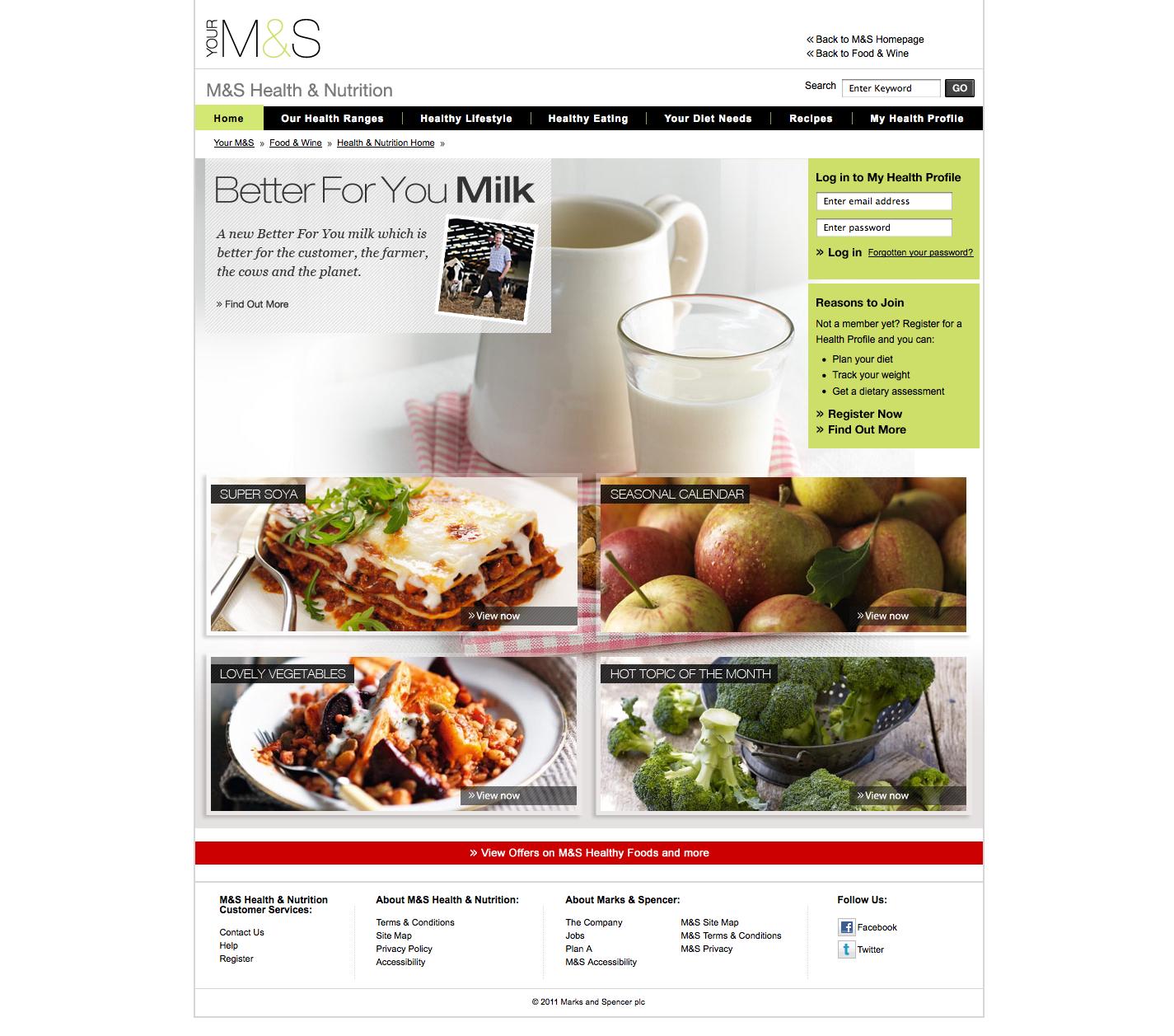 M health httphealthrksandspencer online food recipes m health nutrition website forumfinder Choice Image