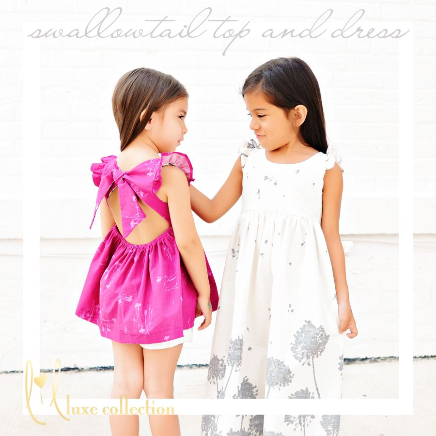 Swallowtail top and dress pattern | sewing patterns | Pinterest