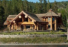 Faq Building A Log Home Pioneer Log Homes Of Bc Log Homes Log Cabin Homes Log Cabin Rustic