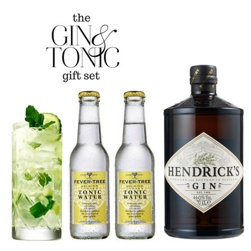 Classic Gin And Tonic Cocktail Gift Set Gin Gifts Gin And Tonic