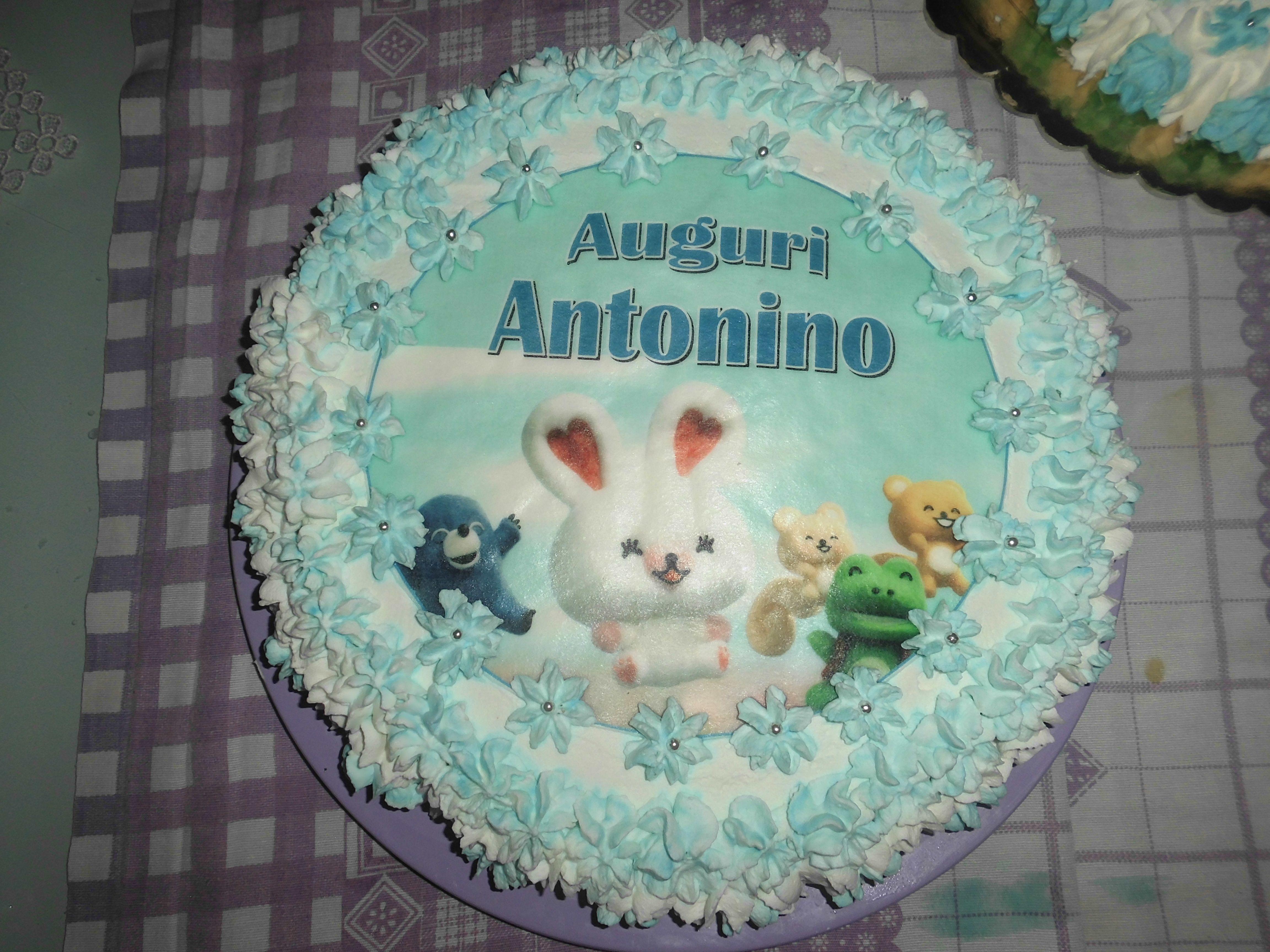 Torta di compleanno per il mio bambino 1 anno i miei dolcii for Idee per torta di compleanno