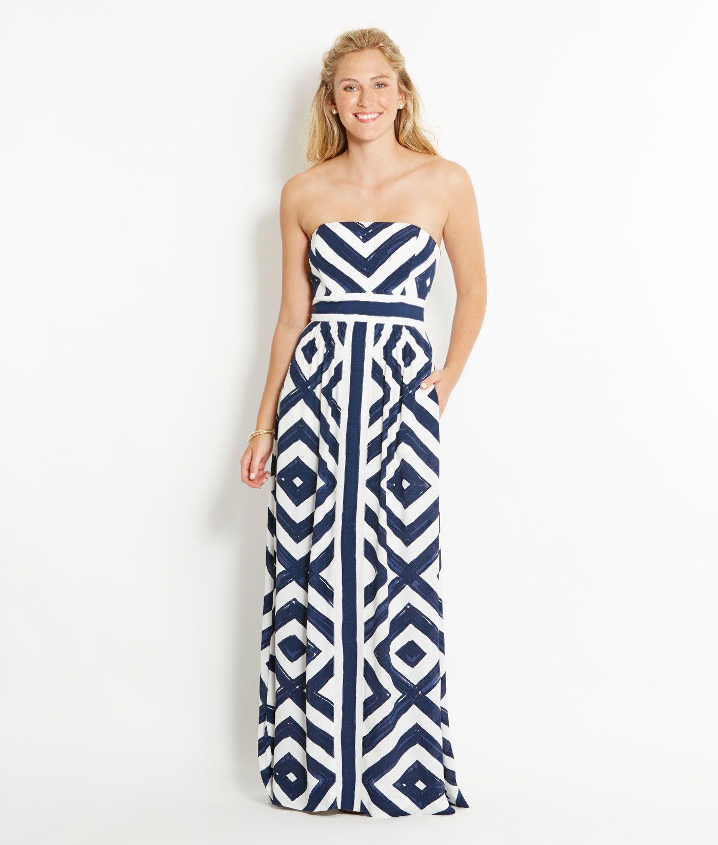 Shop Dresses Diamond Print Maxi Dress For Women Vineyard Vines Printed Maxi Dress Dresses Womens Dresses [ 1646 x 1400 Pixel ]