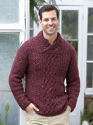Design from Favourite Aran Tweed Knits No.10 (491). This book has 11 ...
